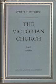 The Victorian Church by Owen Chadwick