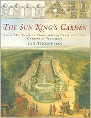 The Sun King's garden by Ian H. Thompson