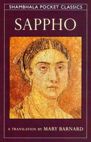 Sappho by Sappho