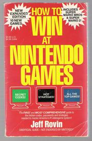 How to Win at Nintendo by Jeff Rovin