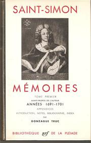 Mémoires by Saint-Simon, Louis de Rouvroy duc de