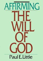 Affirming the Will of God PDF
