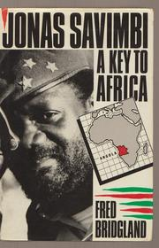 Jonas Savimbi by Fred Bridgland