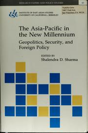 The Asia-Pacific in the new millennium by Shalendra D. Sharma