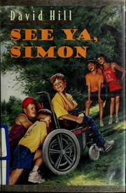 Cover of: See ya, Simon by Hill, David