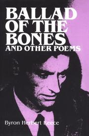 Ballad of the bones and other poems PDF