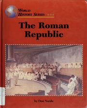 Cover of: The Roman Republic | Don Nardo