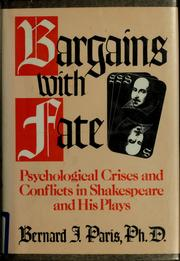 Bargains with fate by Paris, Bernard J.