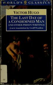 Cover of: The last day of a condemned man by Victor Hugo