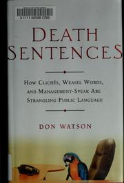 Death sentences by Watson, Don