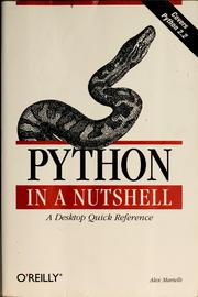 Python in a nutshell by Alex Martelli
