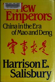 The new emperors by Harrison Evans Salisbury