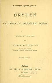 essay on dramatic poesie by john 'of dramatick poesie, an essay' - john dryden(1631-1700) dramatic poesy poojaba jadeja john dryden, essay for drammatic poesy aytekin aliyeva.