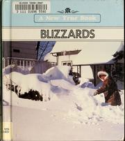 Cover of: Blizzards by Arlene Erlbach