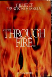 Through fire and water by Chaim Kramer