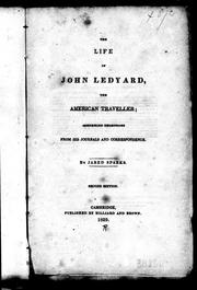Cover of: The life of John Ledyard, the American traveller by Sparks, Jared