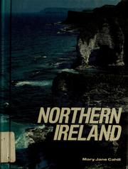 Cover of: Northern Ireland by Mary Jane Cahill