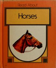 Cover of: Horses by Dean Morris