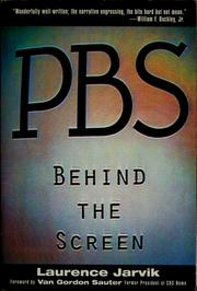 PBS, behind the screen by Laurence Ariel Jarvik
