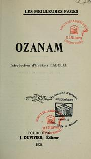 Ozanam by 
