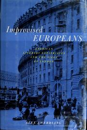 Improvised Europeans by Alex Zwerdling