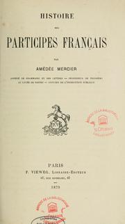 Histoire des participes français