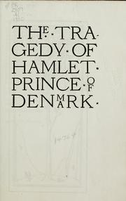 The Tragedie of Hamlet, Prince of Denmarke by William Shakespeare