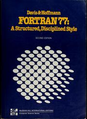 FORTRAN 77 by Gordon Bitter Davis