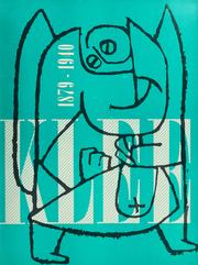 Cover of: Paul Klee, 1879-1940 by Paul Klee
