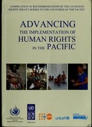 Advancing the implementation of human rights in the Pacific by United Nations. Office of the High Commissioner for Human Rights