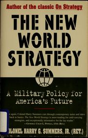 The new world strategy by Harry G. Summers