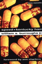 Speed by Burroughs, William S.
