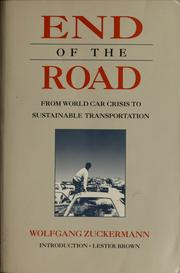 Cover of: End of the Road by Wolfgang Zuckermann