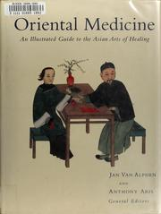 Cover of: Oriental medicine by J. van Alphen, Anthony Aris