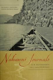 Nahanni journals by R. M. Patterson