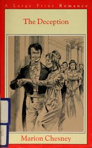 Cover of: The deception by Marion Chesney