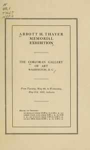 Abbott H. Thayer memorial exhibition