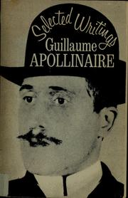 Selected works by Guillaume Apollinaire