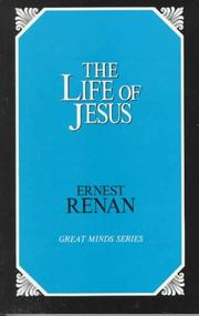 Cover of: The life of Jesus by Ernest Renan