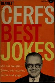 Cover of: Bennett Cerf's best jokes by Bennett Cerf