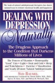 Dealing with depression naturally PDF