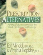 Prescription alternatives by Earl Mindell