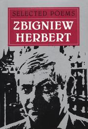 Selected poems by Zbigniew Herbert