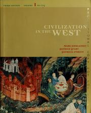 Cover of: Civilization in the West | Mark A. Kishlansky