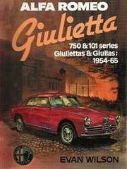 Cover of: Alfa Romeo Giulietta by Evan Wilson