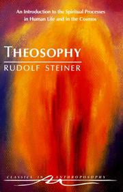 Theosophie by Rudolf Steiner
