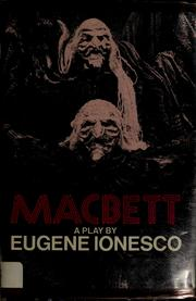 Cover of: Macbett by Eugène Ionesco