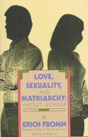Love, Sexuality, and Matriarchy PDF