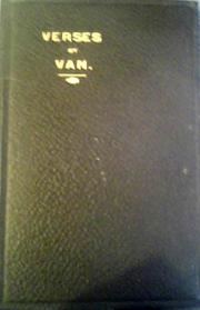 Verses by Van by Herbert Kingsford
