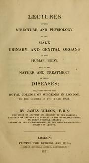 Lectures on the structure and physiology of the male urinary and genital organs of the human body PDF